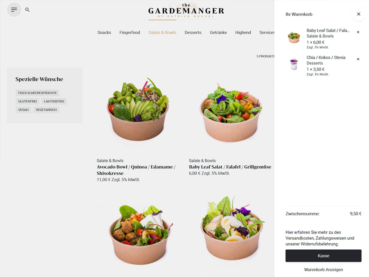 the Gardemanger